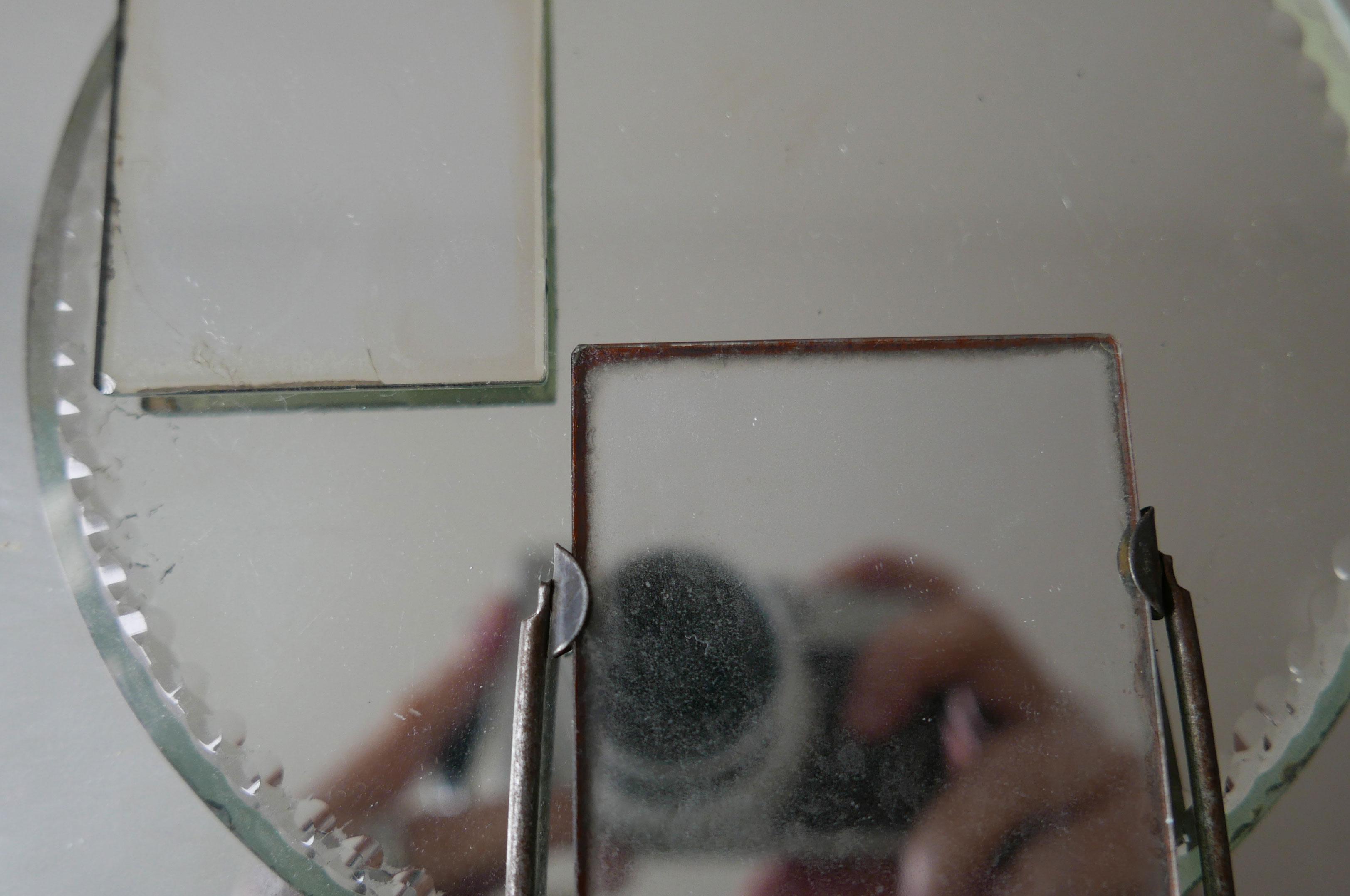 Spiegelung der Kamera in Spiegelflächen