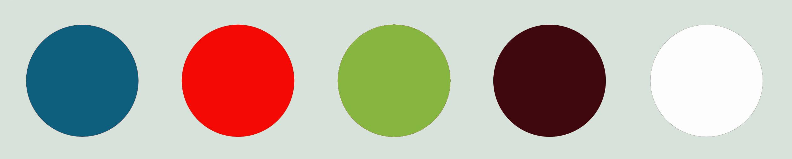 farbkonzept punkte verschiedene farben