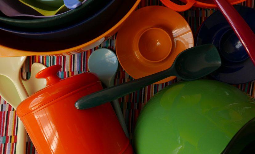 küchenutensilien aus Kunststoff