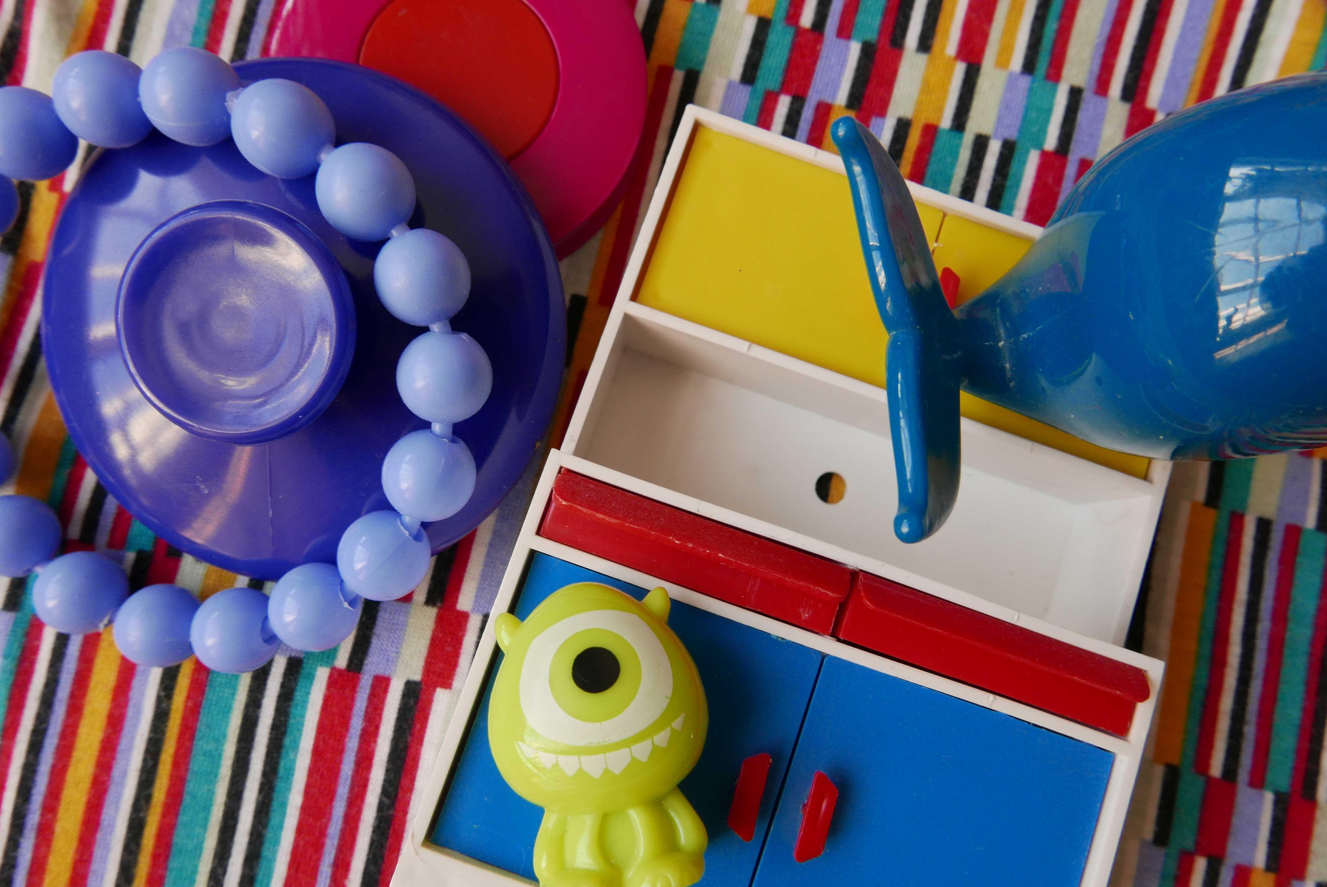 Spielzeug aus Plastik