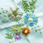 Coronavirus Fluch oder Chance geduldige Stickerei