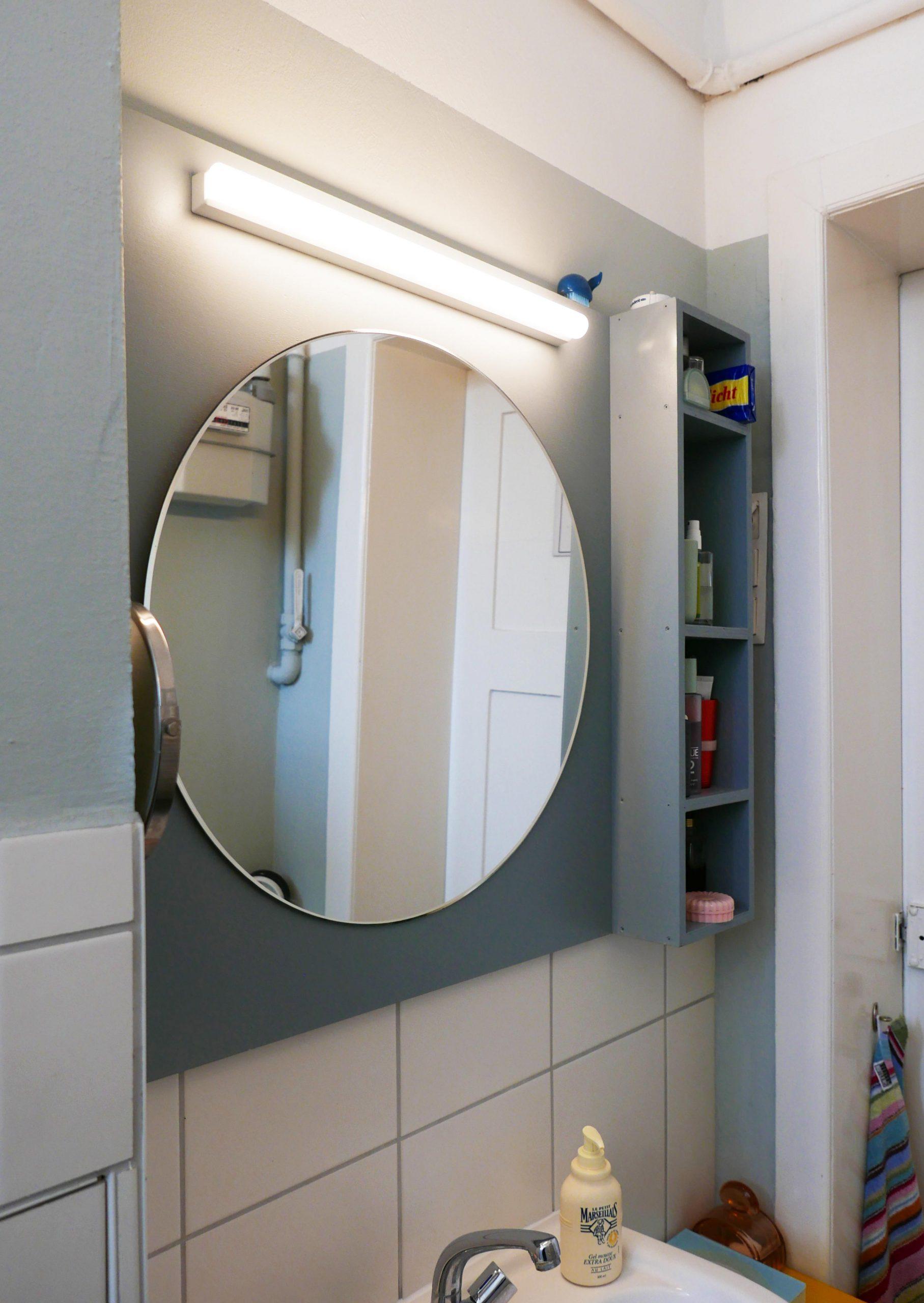 Spiegelragal Badeplanung Farbgestaltung