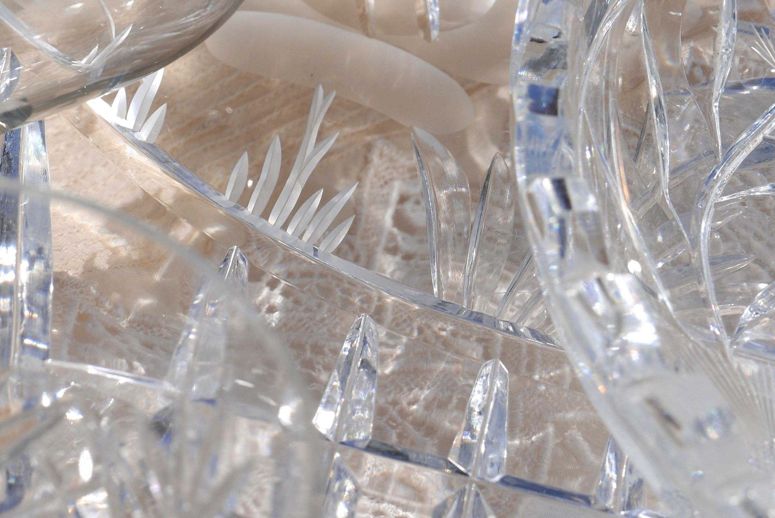 Kristallglas Klarheit der Details