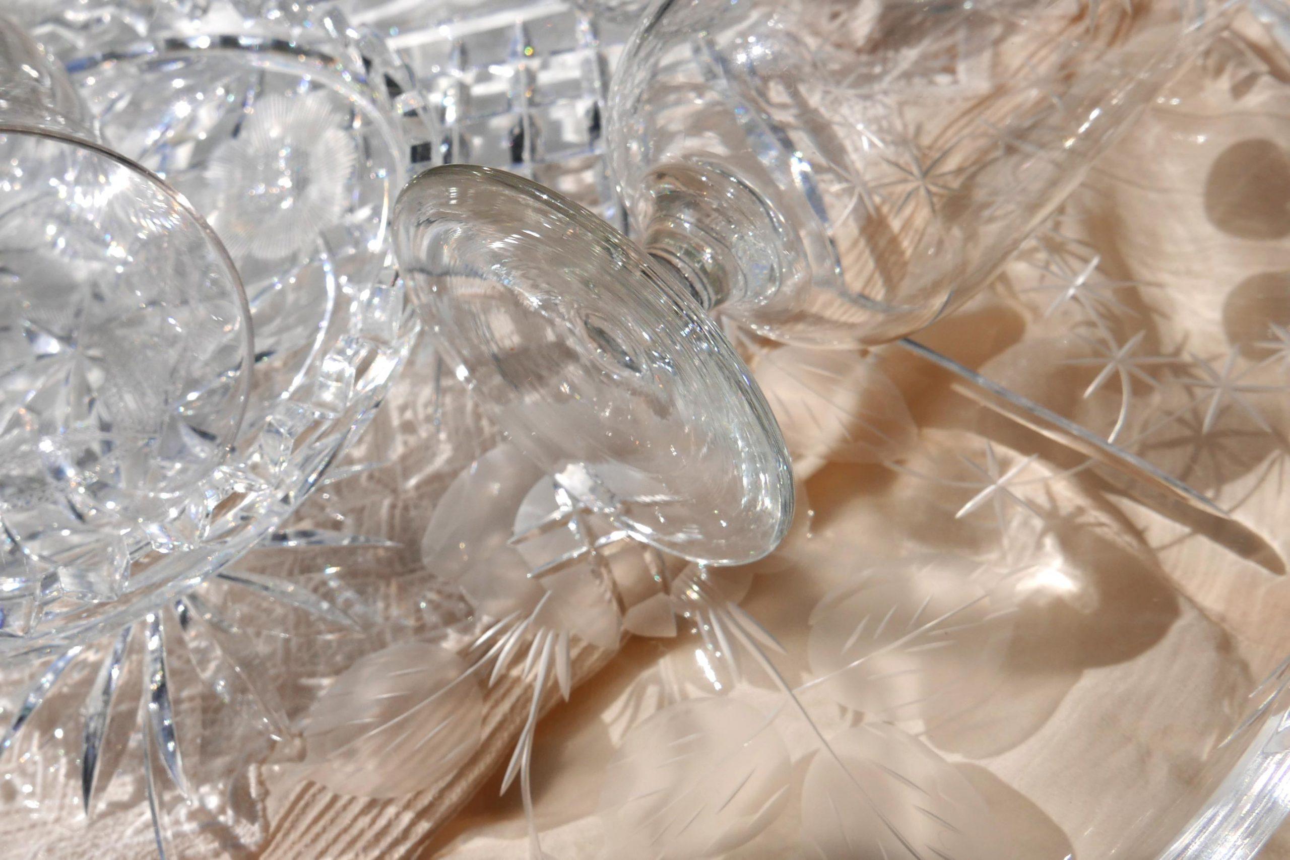 Kristallglas Weinglas Verlangen nach Klarheit
