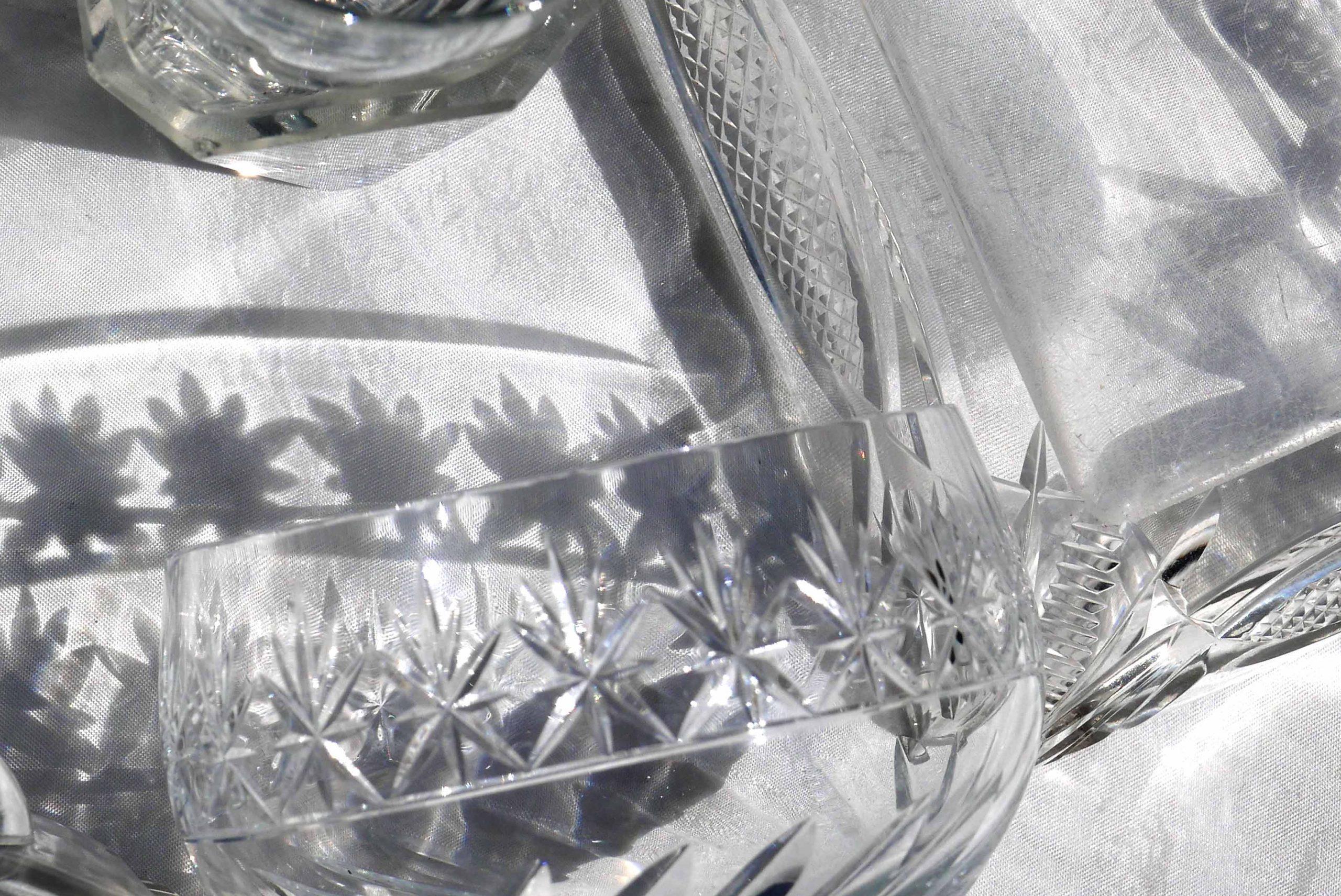 Kristall Verlangen nach Klarheit starker Schatten