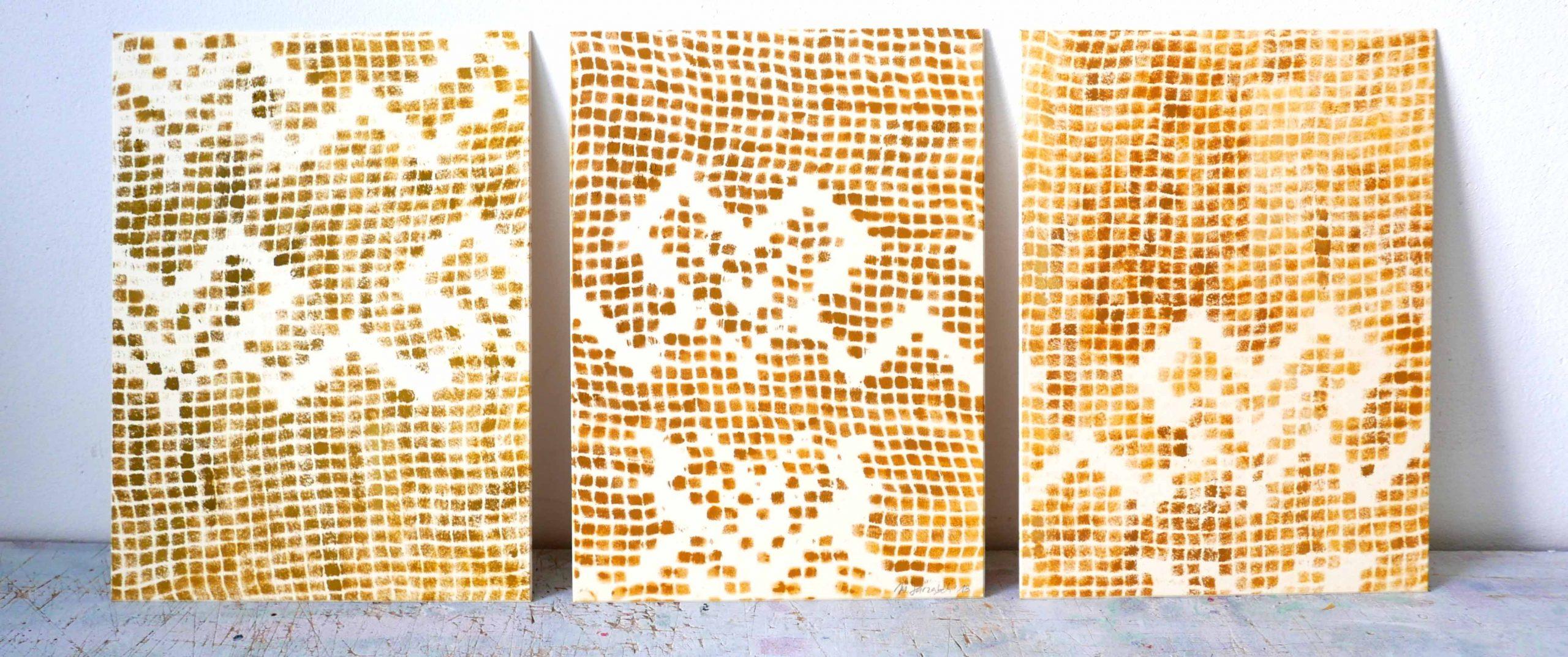 ölbilder abbildung der gardinenmuster textilgedanken