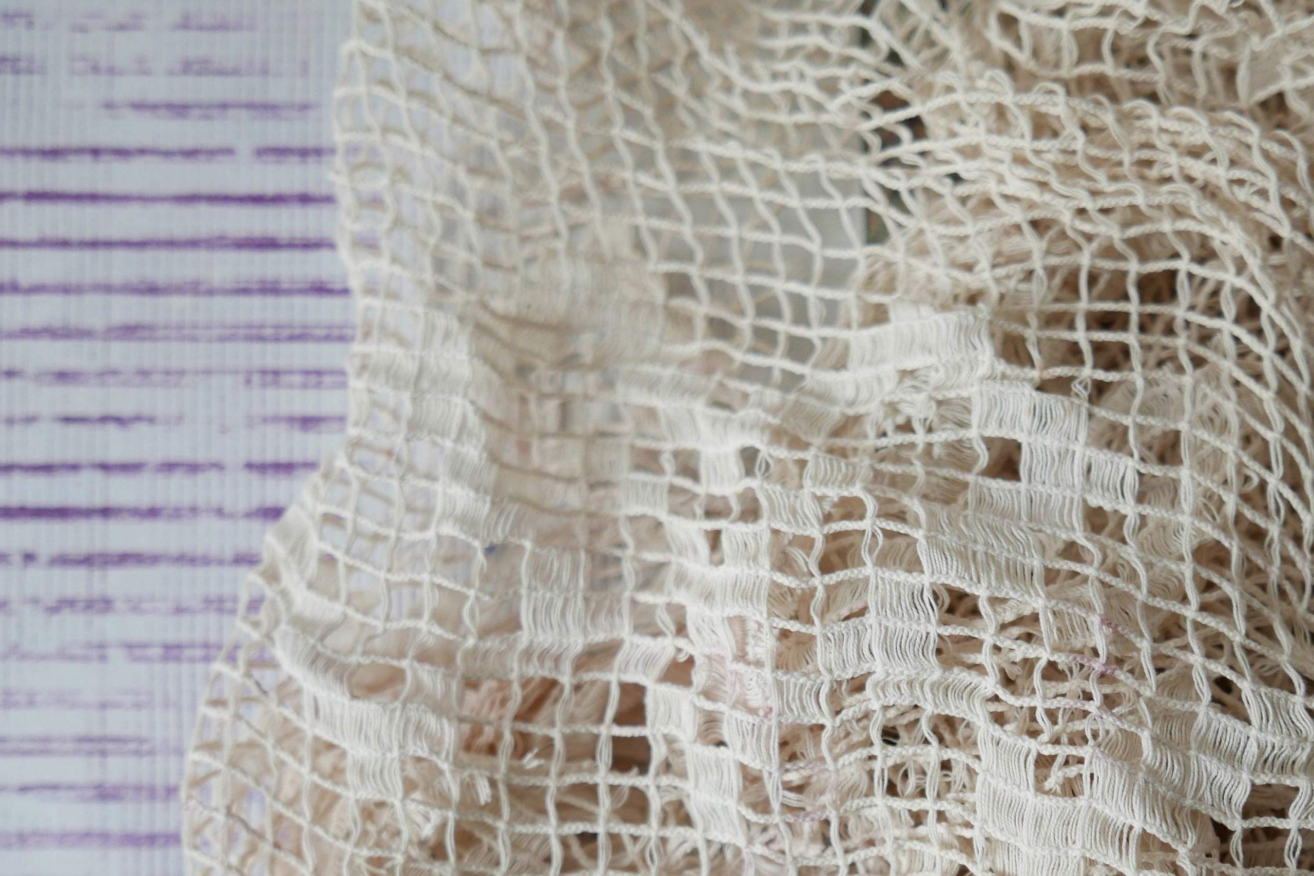 Sonnensieb weiße Gardine textil