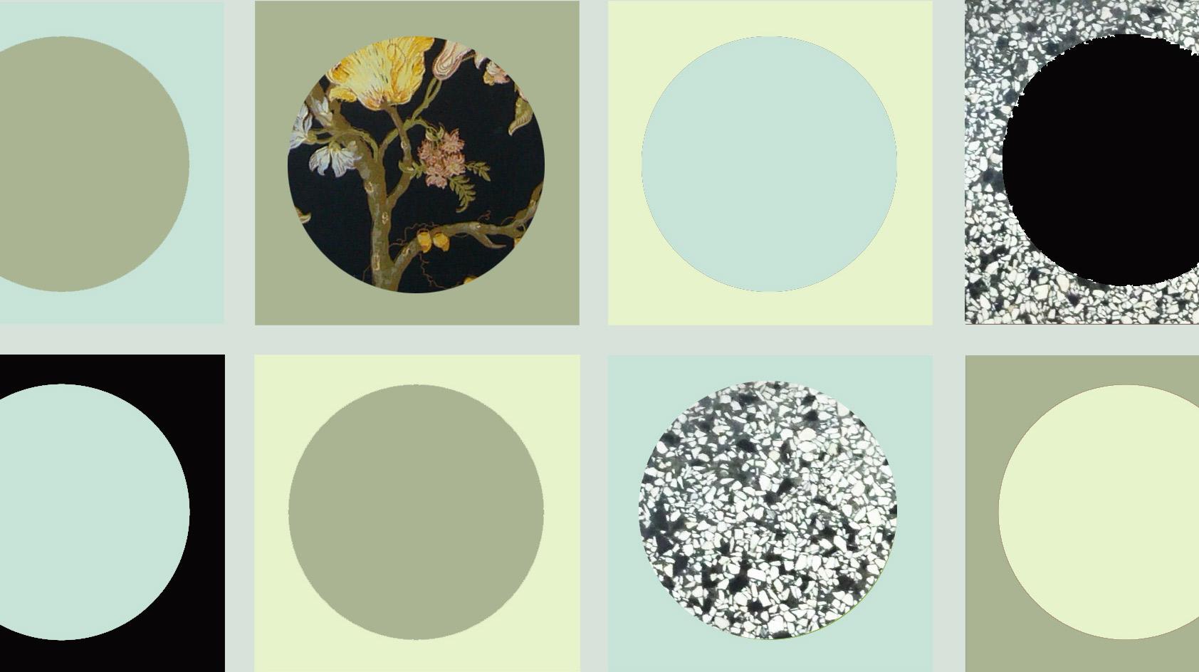 Farbfelder Küche intuitive Farbgebung