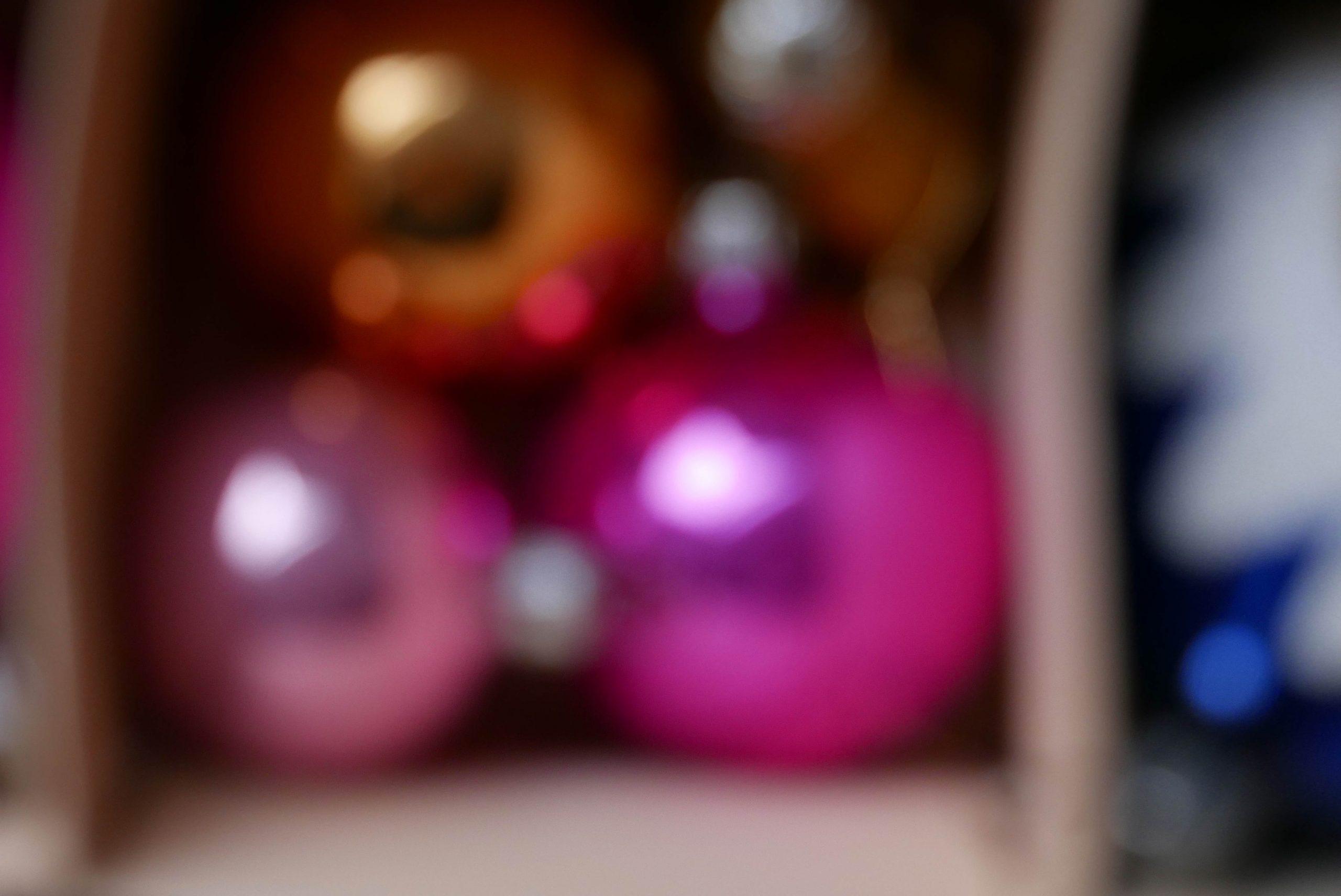 Weihnachtskugeln unscharf Christmas Weihnachtsstimmung