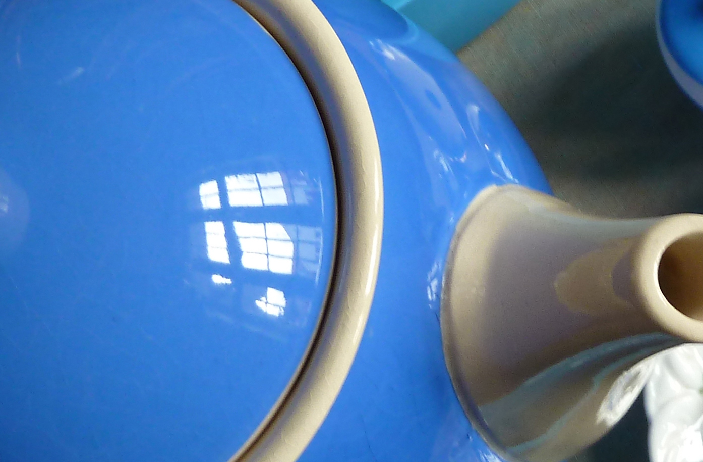 Villeroy Boch Dresden blau Kaffeekanne